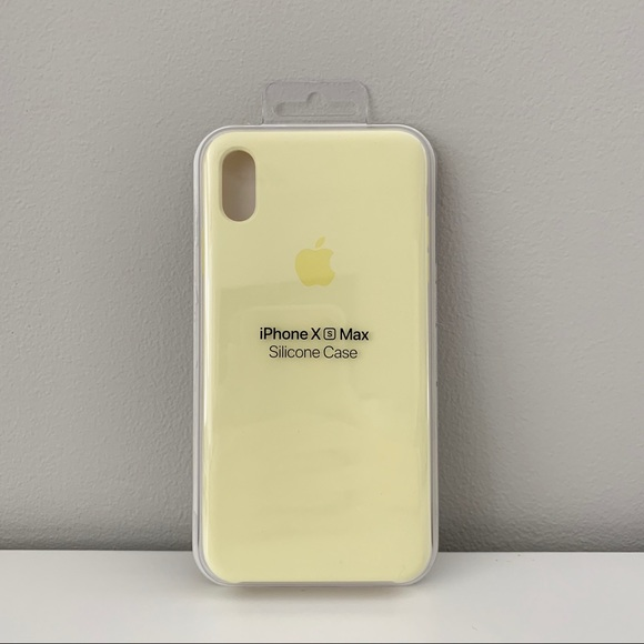 pretty nice 86bf4 650f9 Apple iPhone XS Max Silicone Case - Mellow Yellow